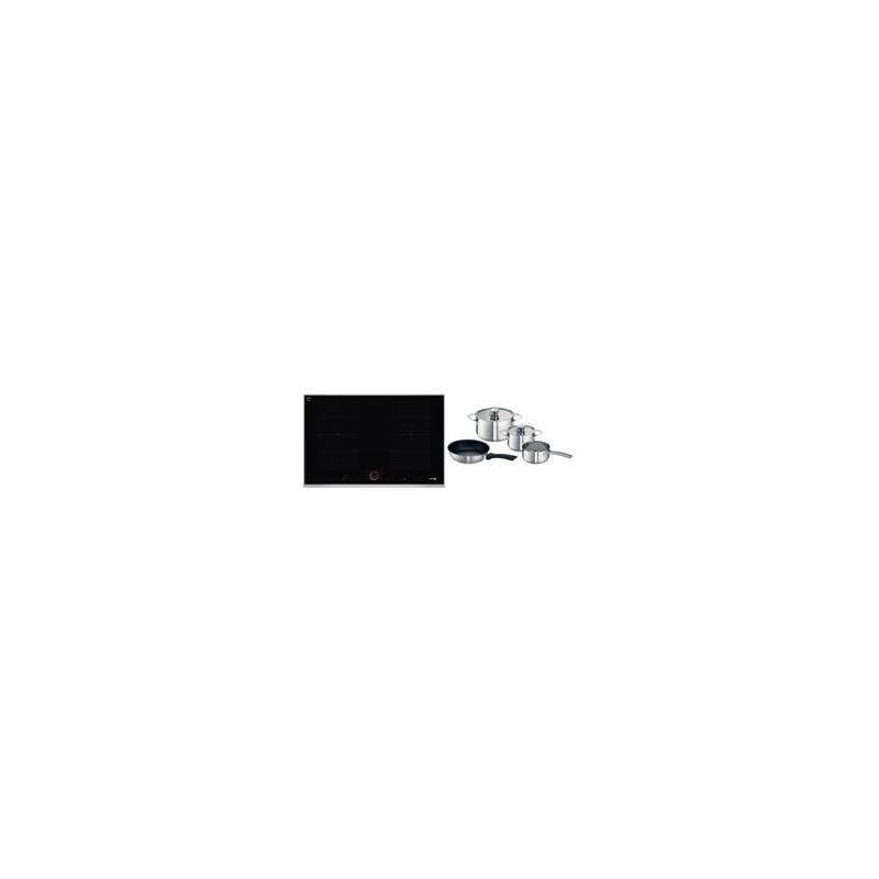 Neff H51xW826xD546 Flexinduction 4 Zone Hob - Black primary image