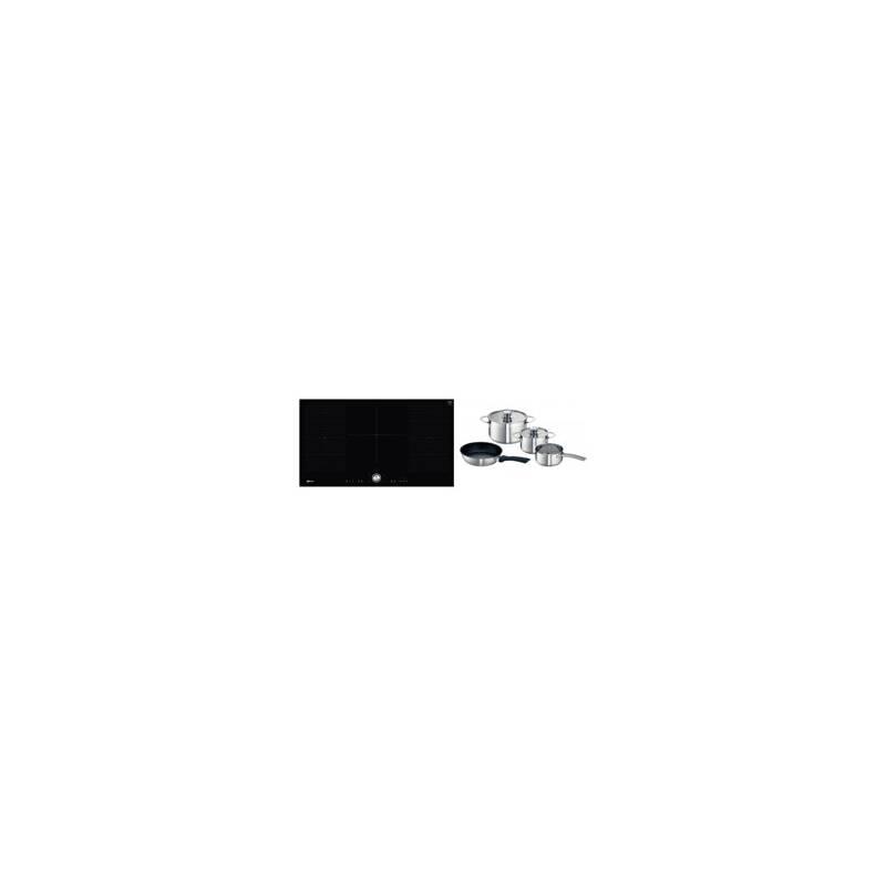 Neff H51xW918xD522 Flexinduction 5 Zone Hob - Black primary image
