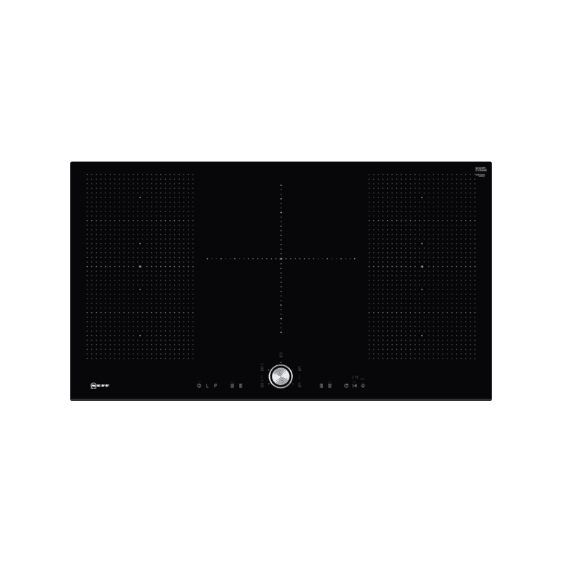 Neff H51xW918xD522 Flexinduction 5 Zone Hob - Black primary image