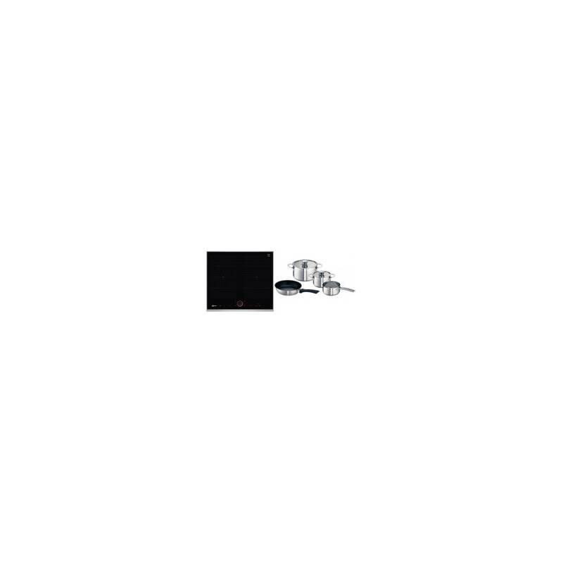 Neff H56xW606xD546 Flexinduction 4 Zone Hob - Black primary image