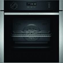 Neff H595xW594xD548 Single Pyrolytic Oven - Slide & Hide with Home Connect