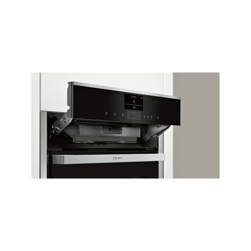 Neff H595xW596xD548 Single Multifunction VarioSteam Pyrolytic Oven - Stainless Steel additional image 1