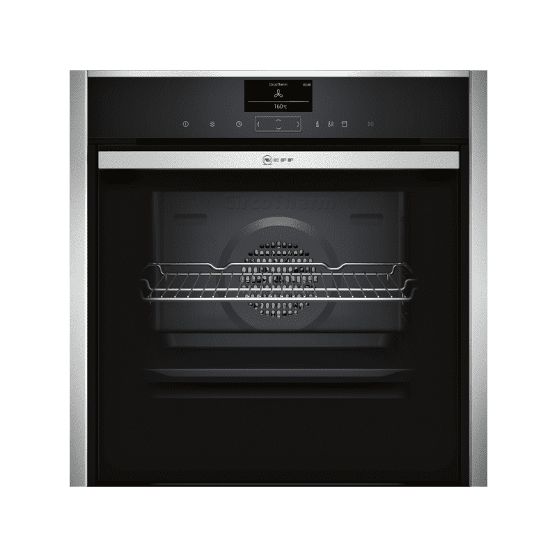 Neff H595xW596xD548 Single Multifunction VarioSteam Pyrolytic Oven - Stainless Steel primary image