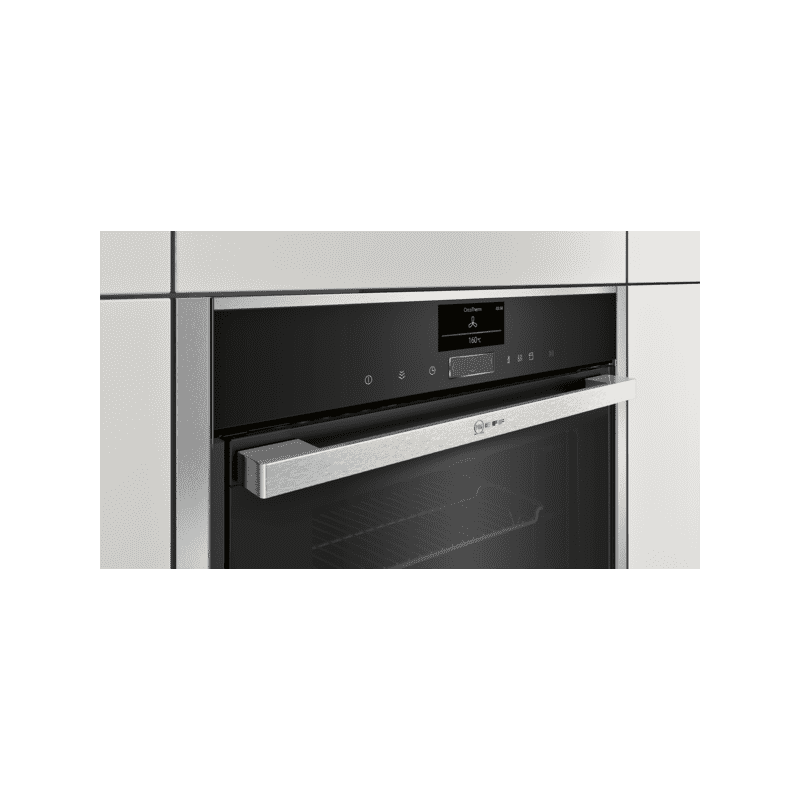 Neff H595xW596xD548 Single Multifunction VarioSteam Pyrolytic Oven - Stainless Steel additional image 6