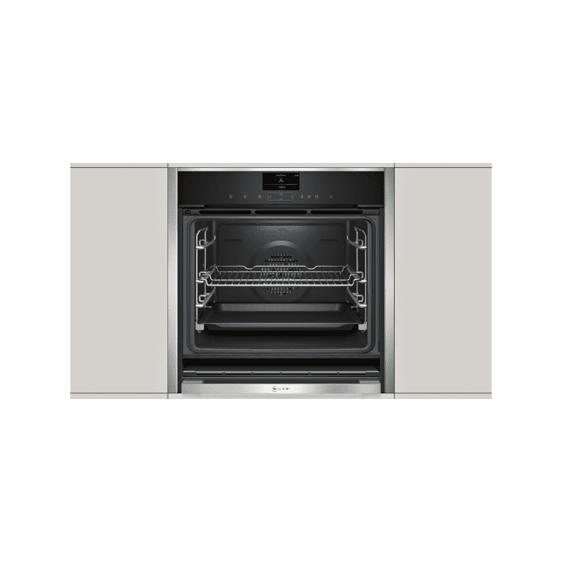 Neff H595xW596xD548 Single Multifunction VarioSteam Pyrolytic Oven - Stainless Steel additional image 7