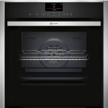 Neff H595xW596xD548 Single Oven Home Connect - Slide & Hide with VarioSteam