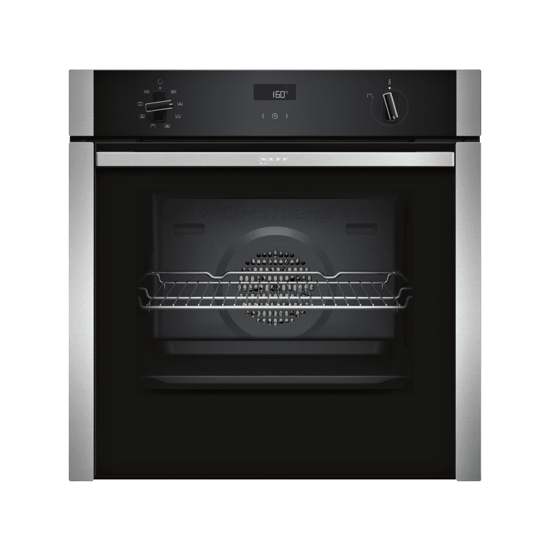 Neff H595xW596xD548 Single Oven - Slide & Hide primary image