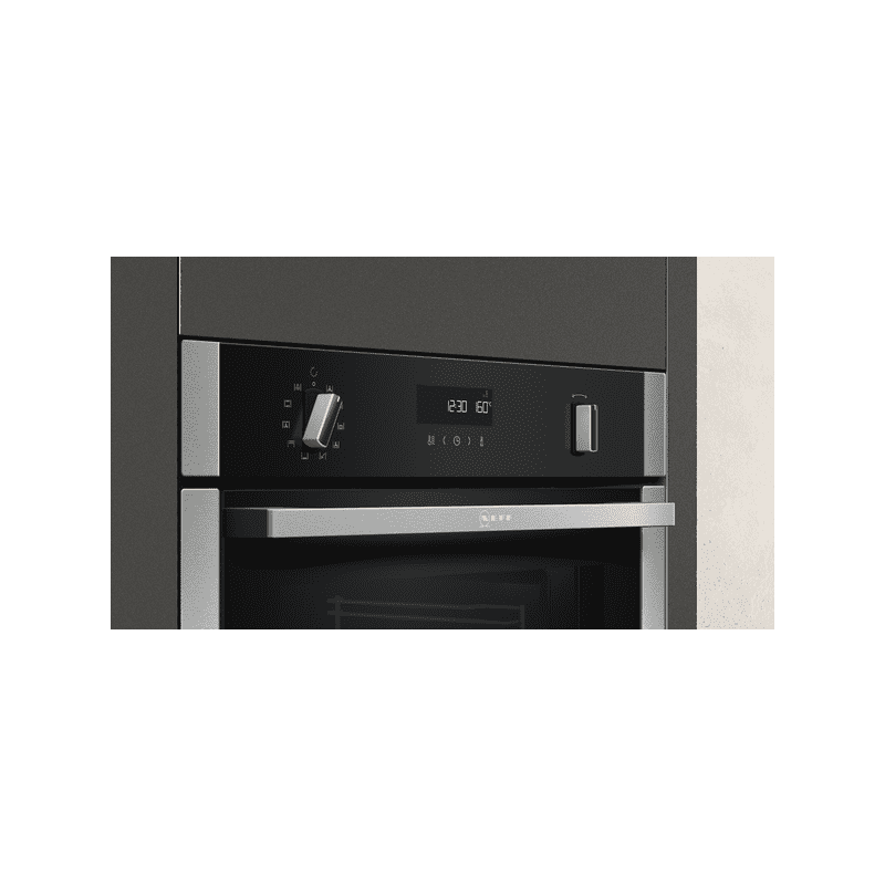 Neff H595xW596xD548 Single Pyrolytic  Oven - Slide & Hide additional image 1