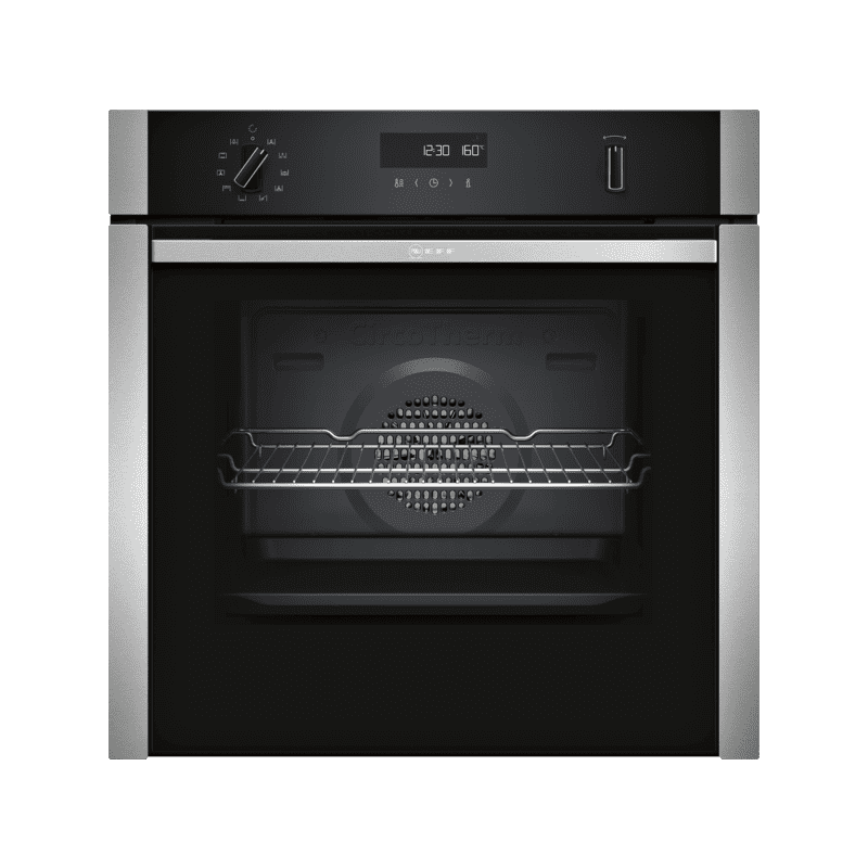 Neff H595xW596xD548 Single Pyrolytic  Oven - Slide & Hide primary image