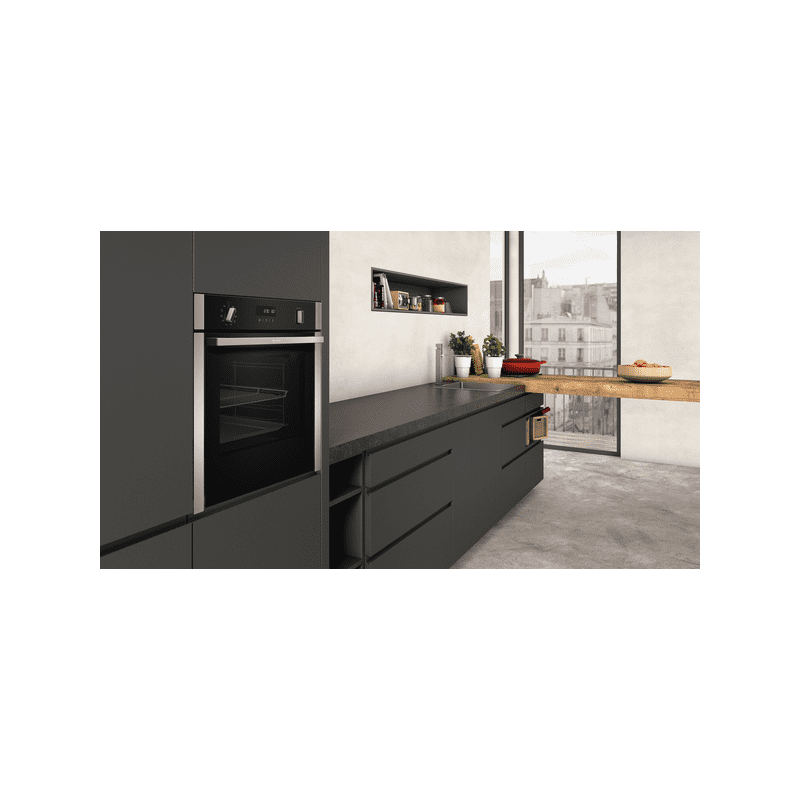Neff H595xW596xD548 Single Pyrolytic  Oven - Slide & Hide additional image 4