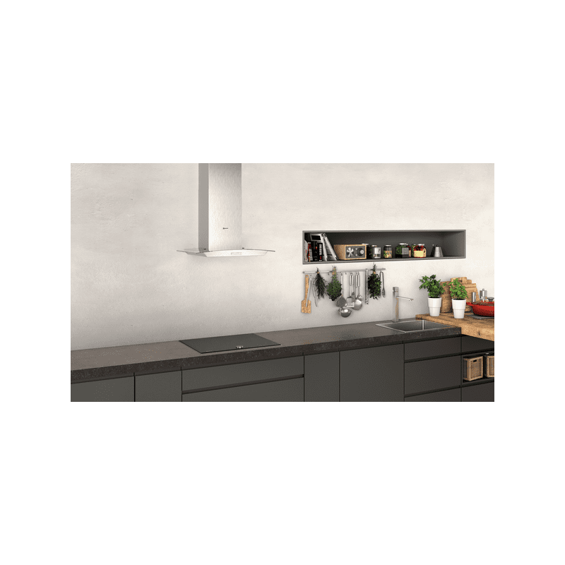 Neff H617xW600xD488 Chimney Cooker Hood - Stainless Steel additional image 3