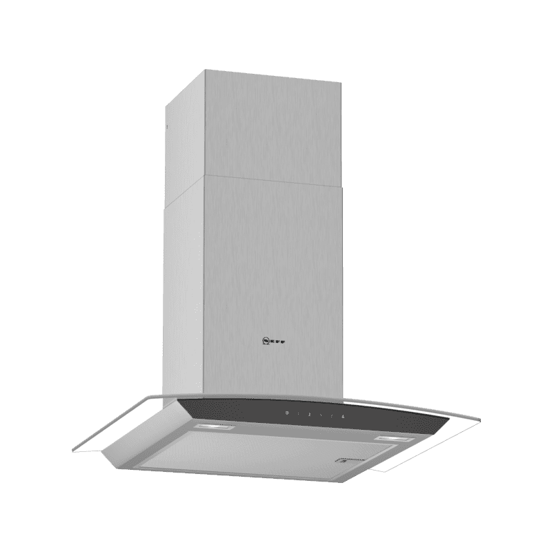 Neff H617xW600xD488 Chimney Cooker Hood - Stainless Steel primary image