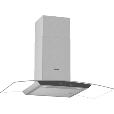 Neff H617xW900xD488 Curved Glass Cooker Hood