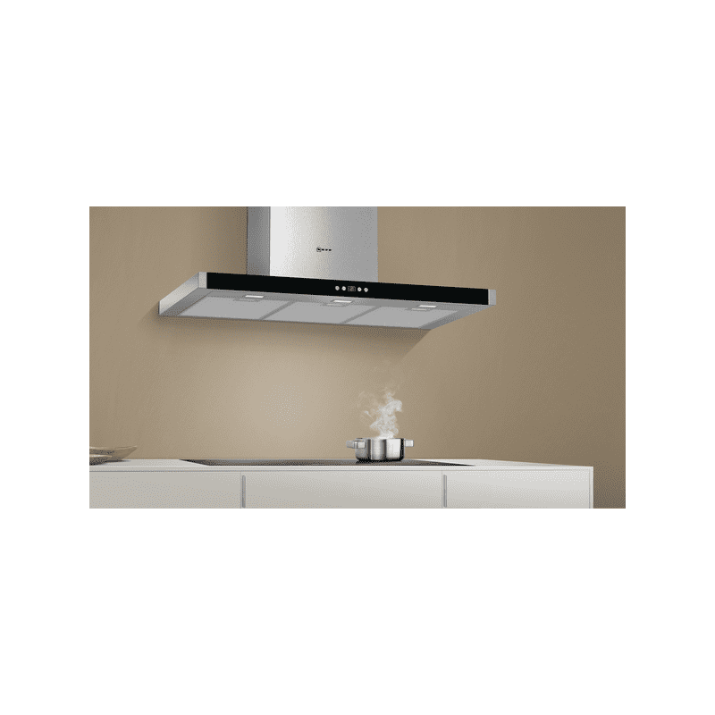 Neff H628xW900xD500 Chimney Extractor - Stainless Steel additional image 3