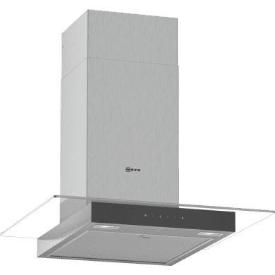 Neff H635xW600xD525 Chimney Cooker Hood - Stainless Steel