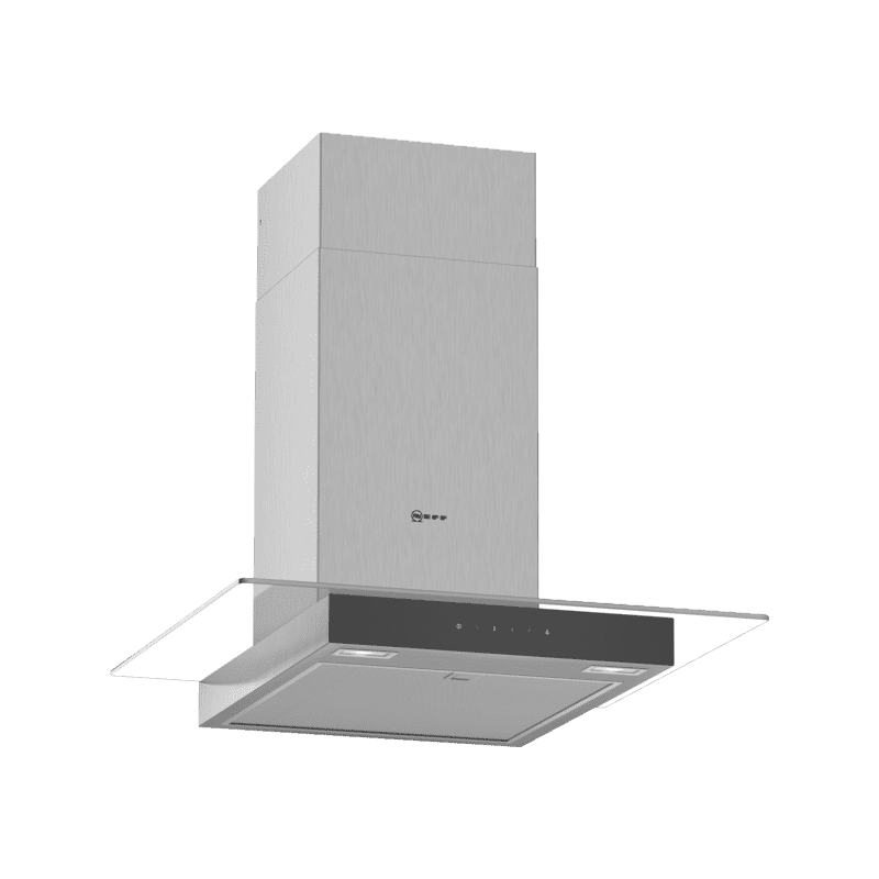Neff H635xW600xD525 Chimney Cooker Hood - Stainless Steel primary image