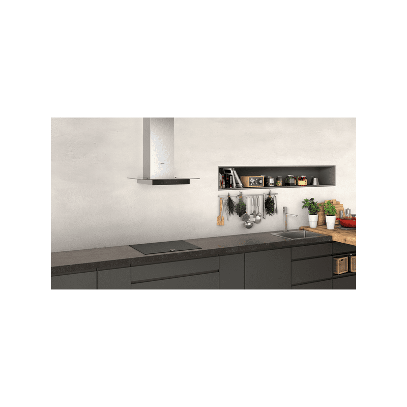 Neff H635xW600xD525 Chimney Cooker Hood - Stainless Steel additional image 2