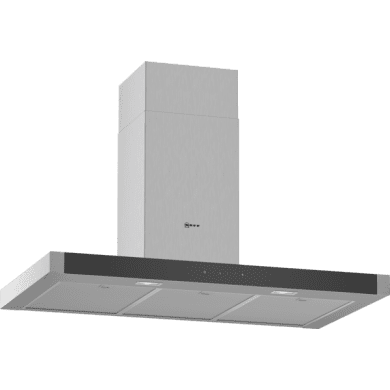 Neff H635xW900xD500 Chimney Cooker Hood - Stainless Steel