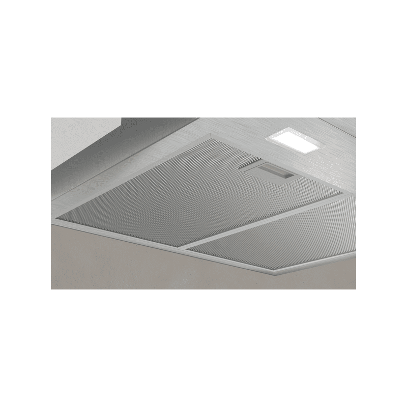 Neff H635xW900xD525 Chimney Cooker Hood - Stainless Steel additional image 1