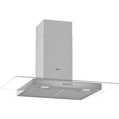 Neff H635xW900xD525 Chimney Cooker Hood - Stainless Steel