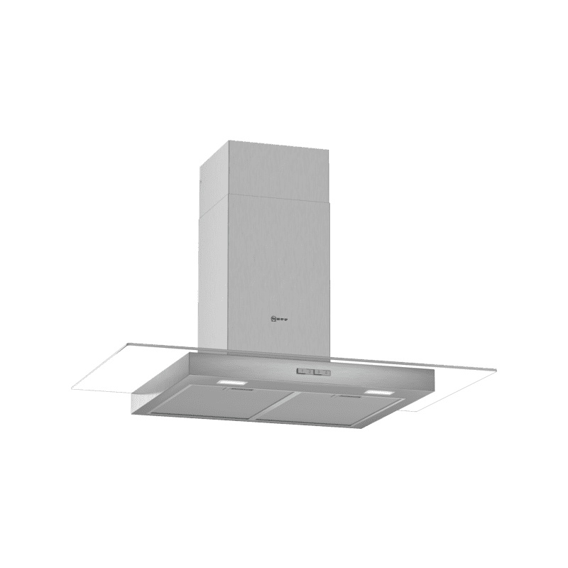 Neff H635xW900xD525 Chimney Cooker Hood - Stainless Steel primary image