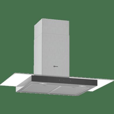 Neff H635xW900xD525 Chimney Cooker Hood - Stainless Steel