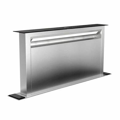 Neff H652xW880xD352 Downdraft Integrated Cooker Hood - Stainless Steel