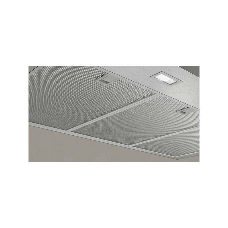 Neff H676xW900xD500 Chimney Cooker Hood - Stainless Steel additional image 2