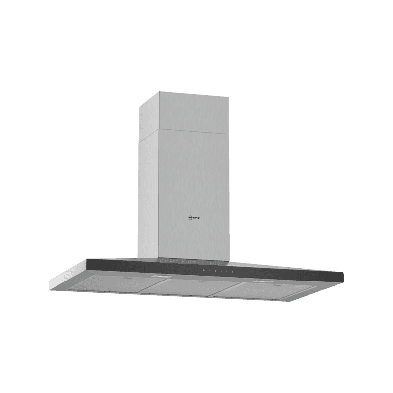 Neff H676xW900xD500 Chimney Cooker Hood - Stainless Steel primary image