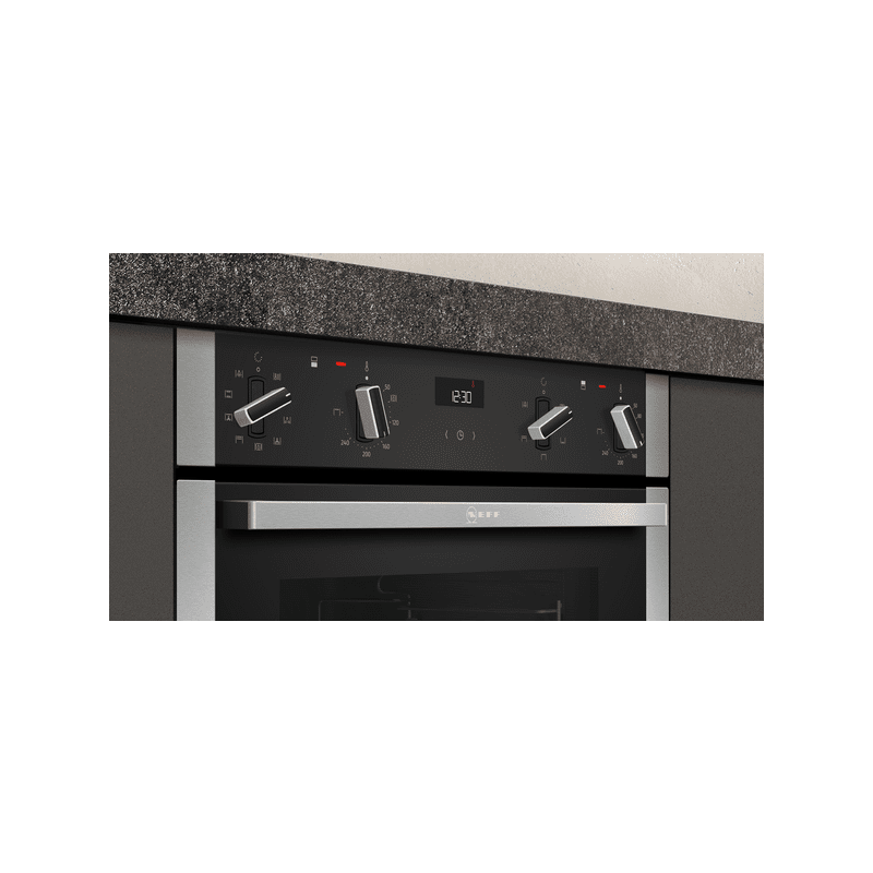 Neff H717xW594xD550 Built Under Double Oven additional image 2
