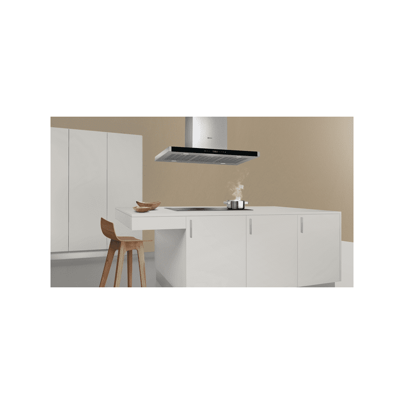 Neff H744xW900xD600 Island Extractor - Stainless Steel additional image 2