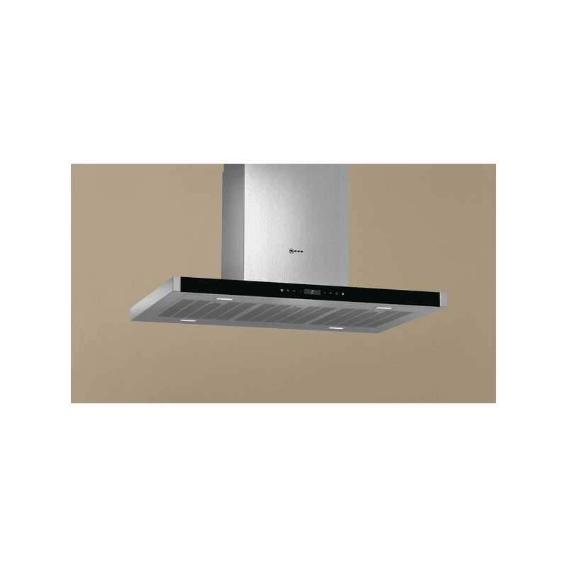 Neff H744xW900xD600 Island Extractor - Stainless Steel additional image 3