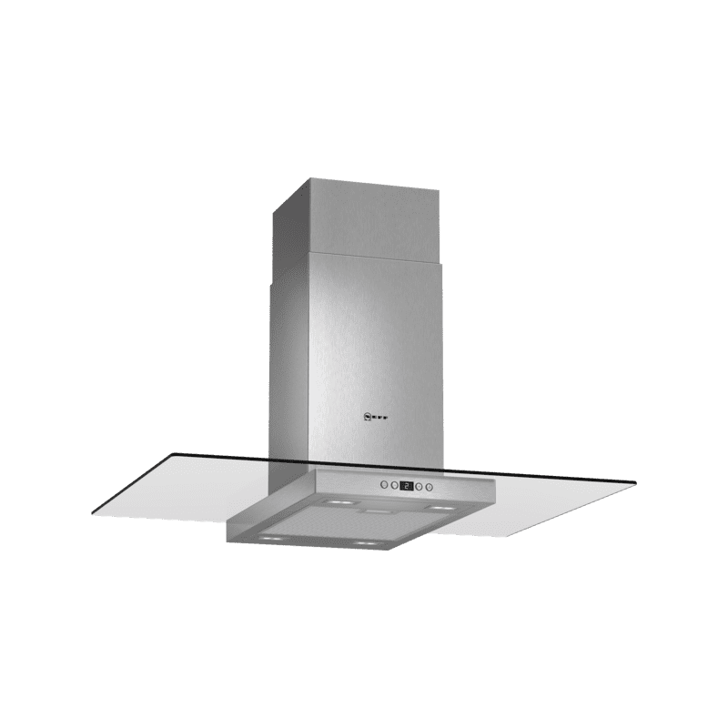 Neff H751xW900xD680 Island Cooker Hood - Stainless Steel and Glass primary image