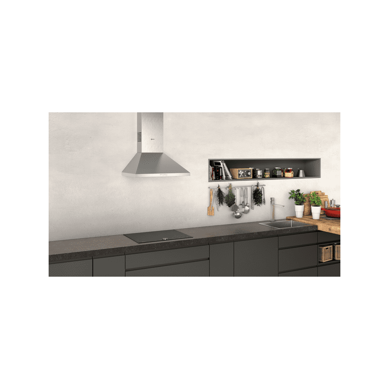Neff H799xW600xD500 Chimney Cooker Hood - Stainless Steel additional image 3