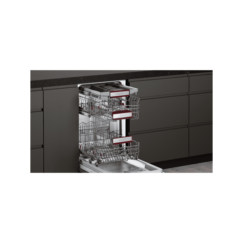 Neff H815xW448xD550 Fully Integrated Slimline Dishwasher additional image 4