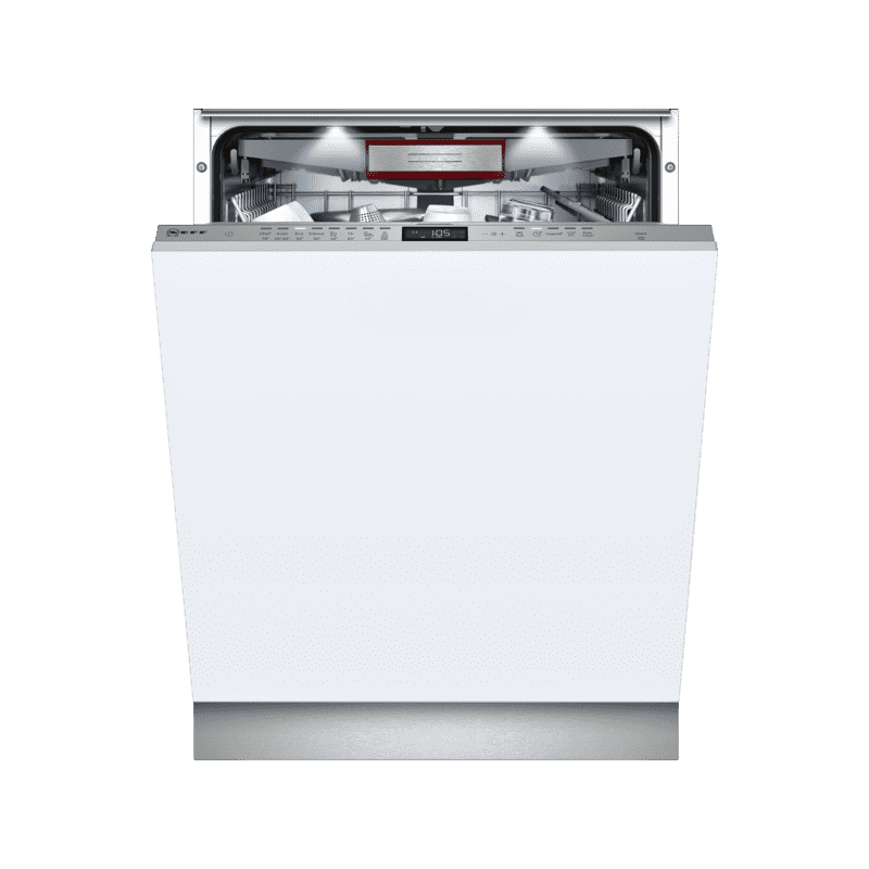 Neff H815xW598xD550 Fully Integrated Dishwasher-Door Open Assist primary image