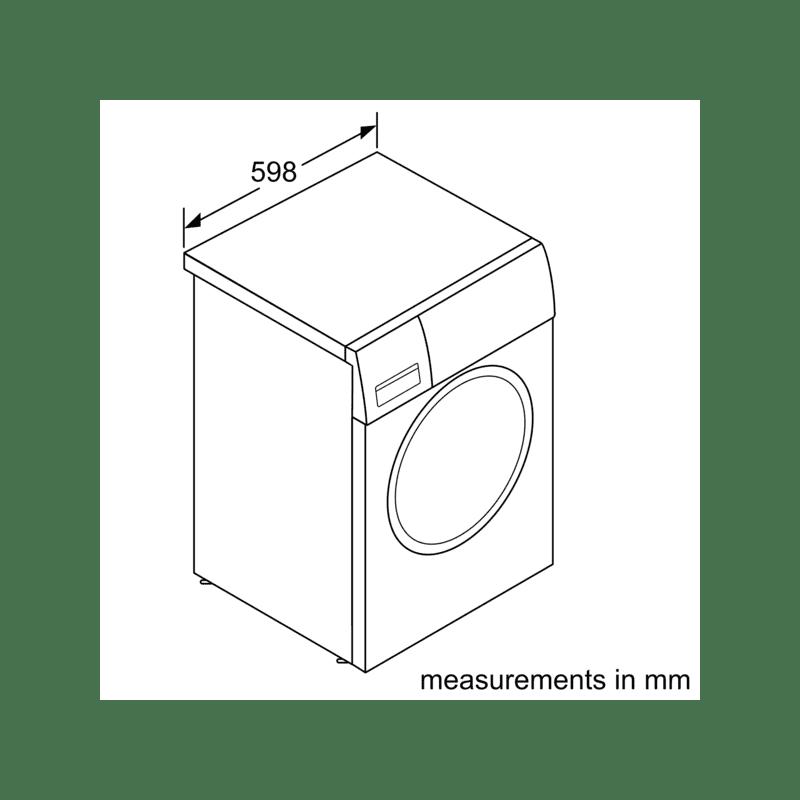 Neff H818xW596xD544 Integrated Washing Machine (8kg) additional image 6