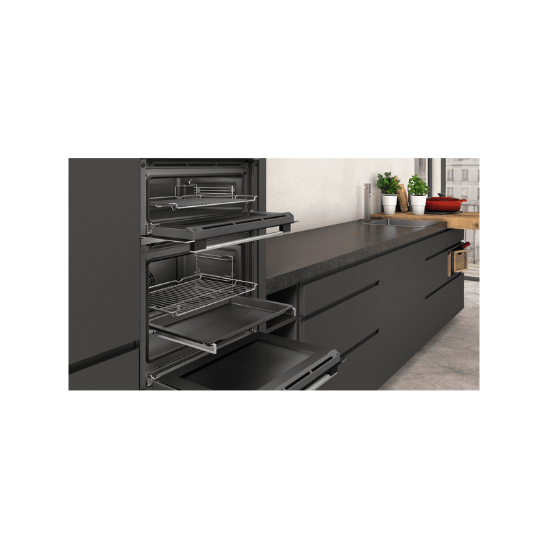 Neff H888xW594xD550 Built In Double Oven additional image 2