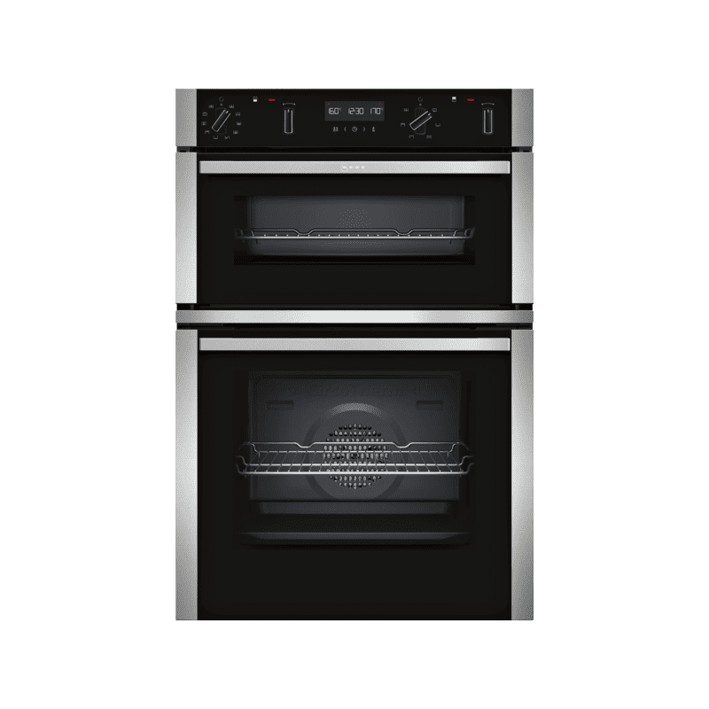 Neff H888xW594xD550 Built In Double Pyrolytic Oven primary image