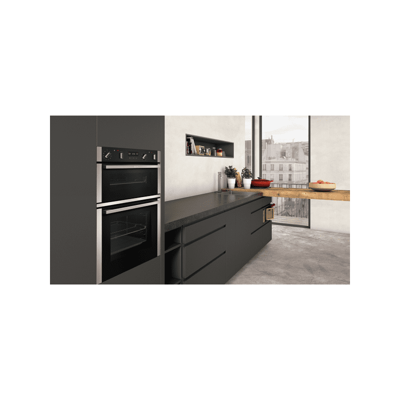 Neff H888xW594xD550 Built In Double Pyrolytic Oven additional image 4