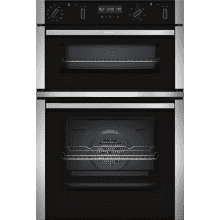 Neff H888xW594xD550 N50 Built In Double Pyrolytic Oven