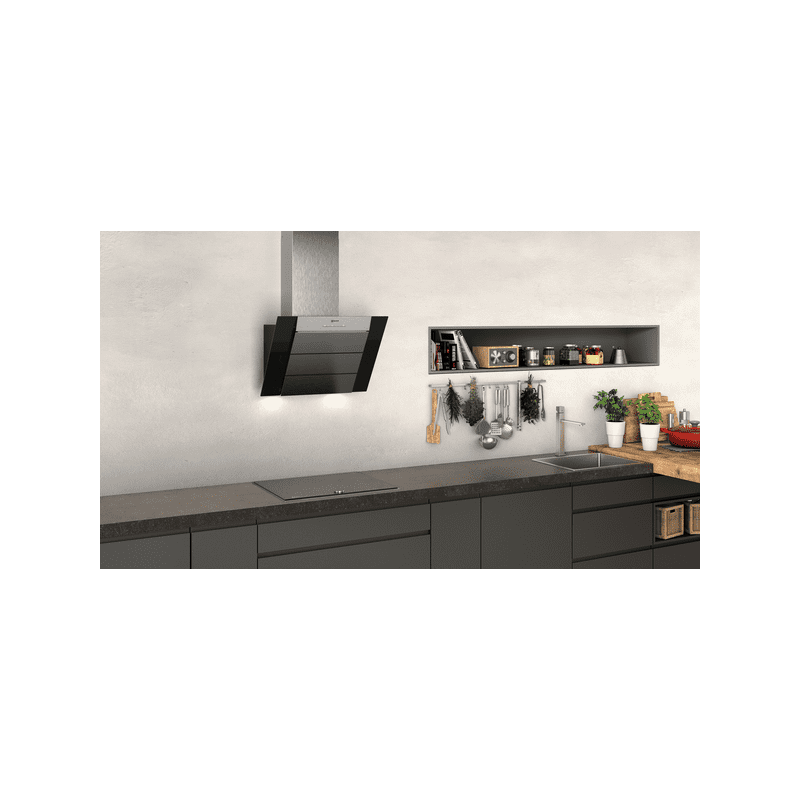 Neff H898xW590xD467 Chimney Cooker Hood - Black additional image 1