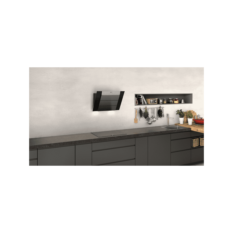 Neff H898xW590xD467 Chimney Cooker Hood - Black additional image 2
