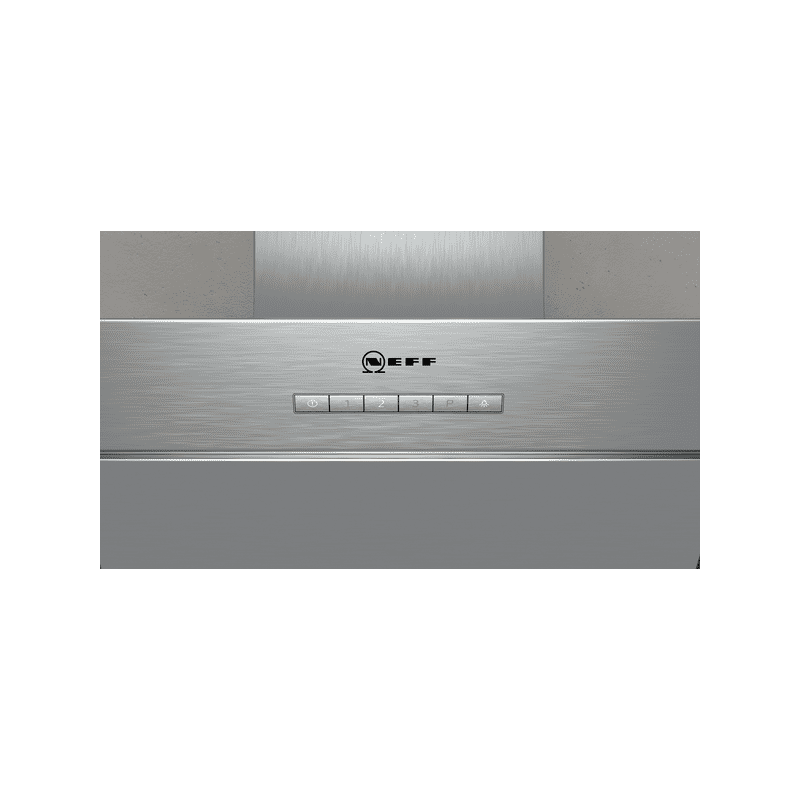 Neff H898xW790xD467 Chimney Cooker Hood - Black and Stainless Steel additional image 3