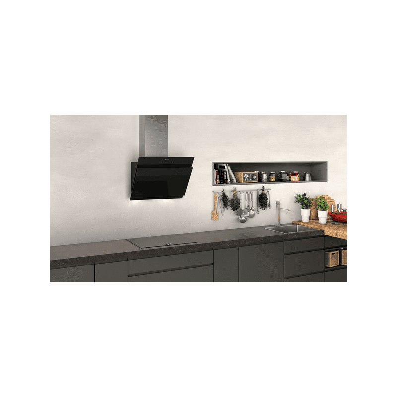 Neff H928xW590xD499 Flat Glass Hood AmbientLight - Black additional image 2