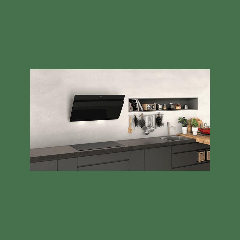 Neff H928xW890xD499 Angled Glass Hood - Black additional image 2