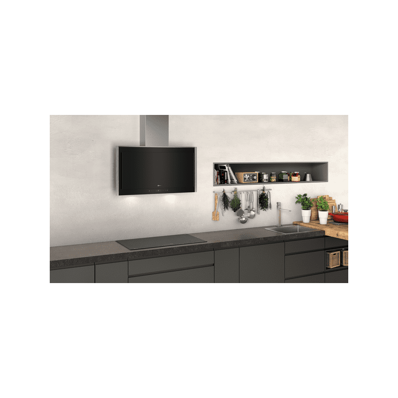 Neff H969xW895xD263 Chimney Hood - Glass additional image 1