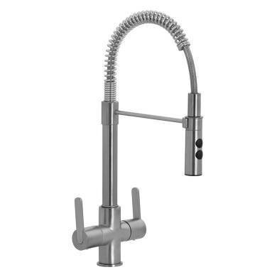 Oceanus Tap Brushed Nickel - High Pressure Only