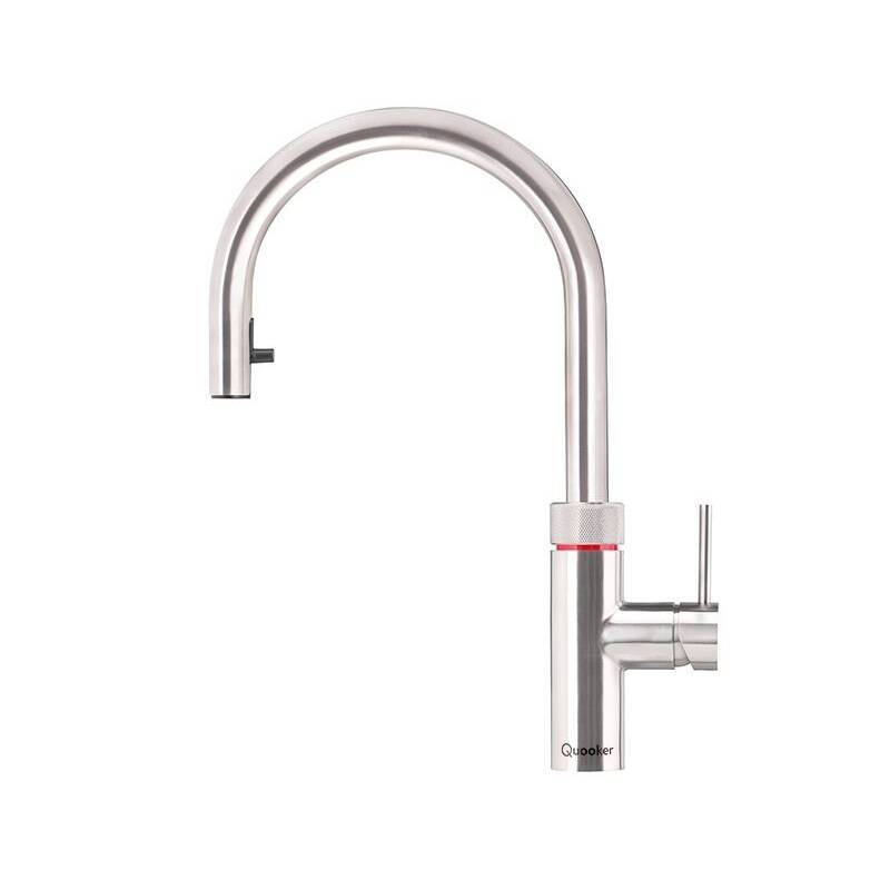 Quooker Flex 4N1 Boiling Water Tap Stainless Steel primary image