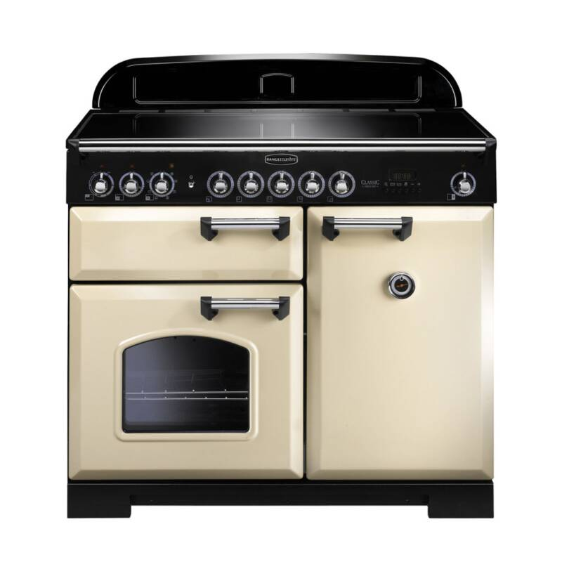 Rangemaster CDL100EICR/C Classic Deluxe 100 Induction - Cream - CDL100EICR/C primary image